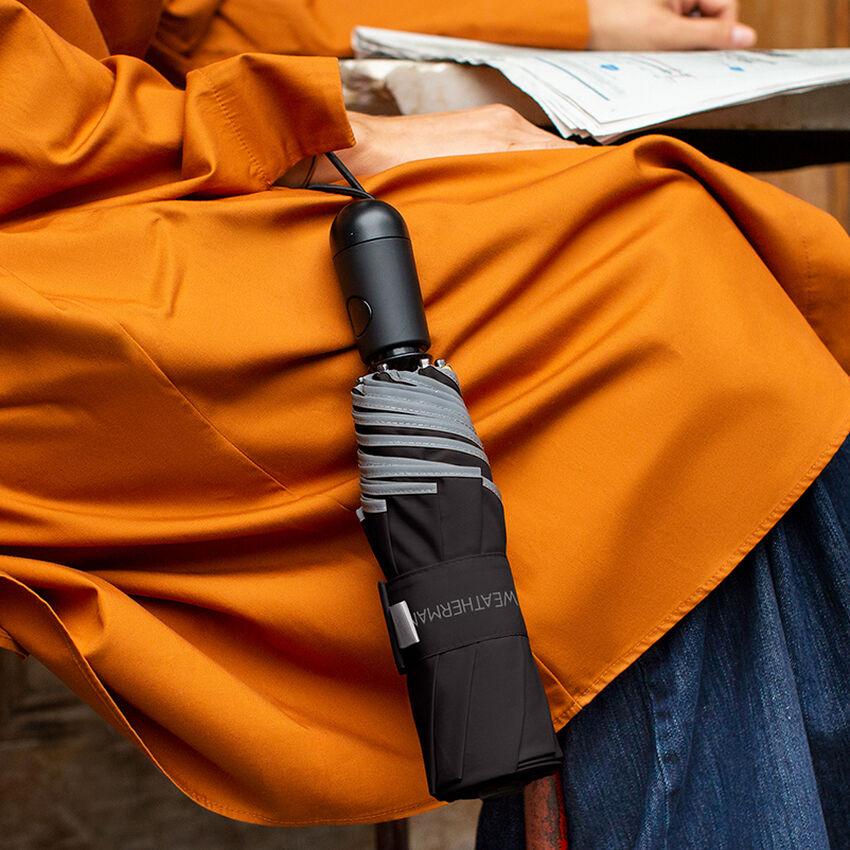 The Travel Umbrella, Black, medium