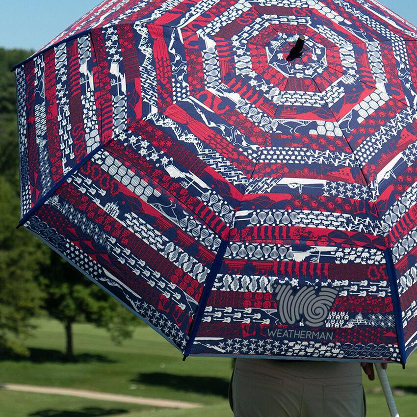 The United Folds of Honor Golf Umbrella, , medium