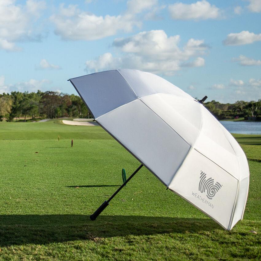The 68 Golf Umbrella, White, medium