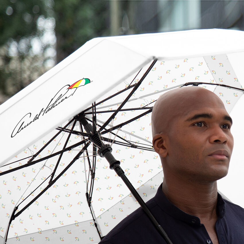 The Dancing Umbrellas Arnold Palmer Collapsible Umbrella, , medium