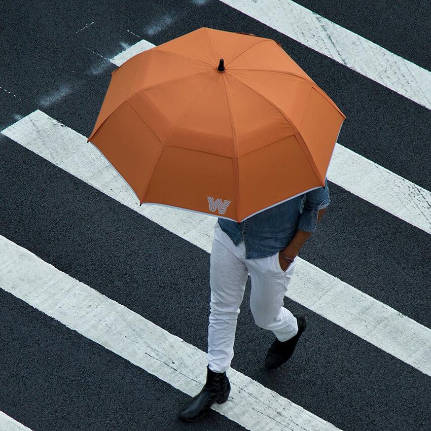 The Stick Umbrella, Orange, medium