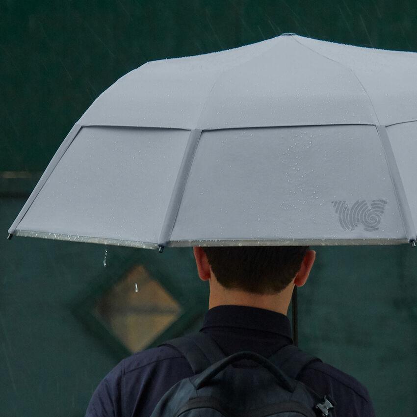 The Collapsible Umbrella, Gray, medium