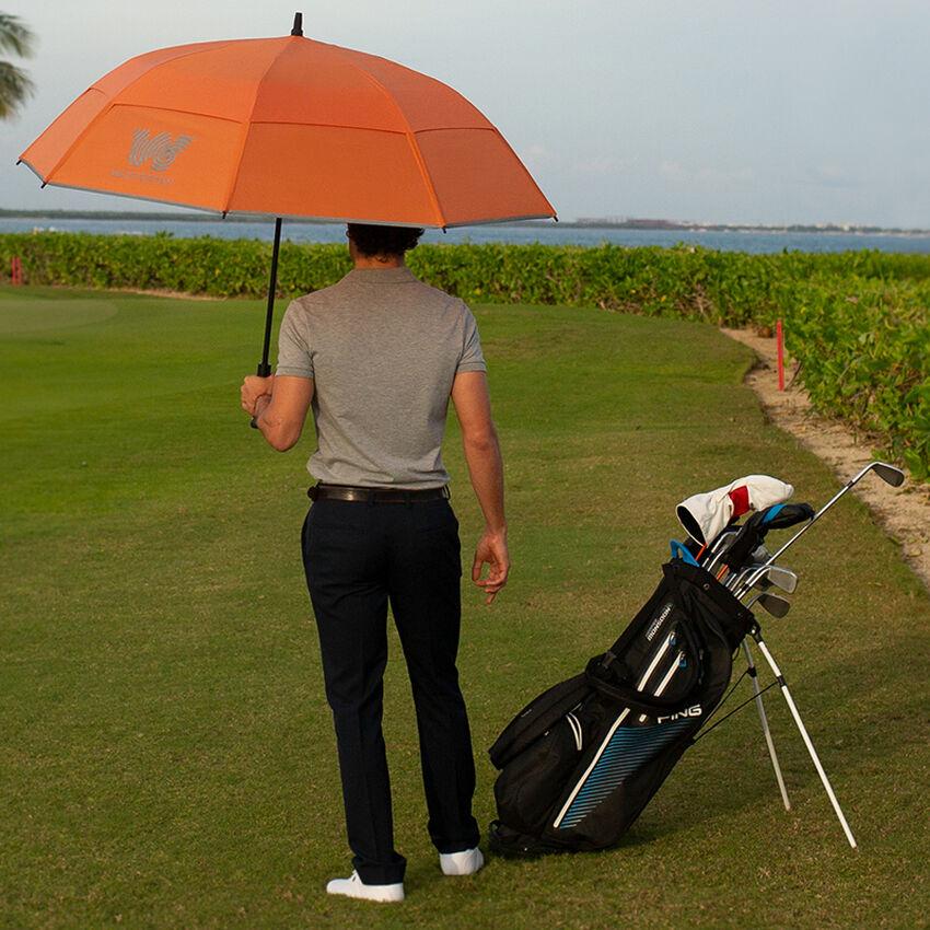 The 62 Golf Umbrella, Orange, medium