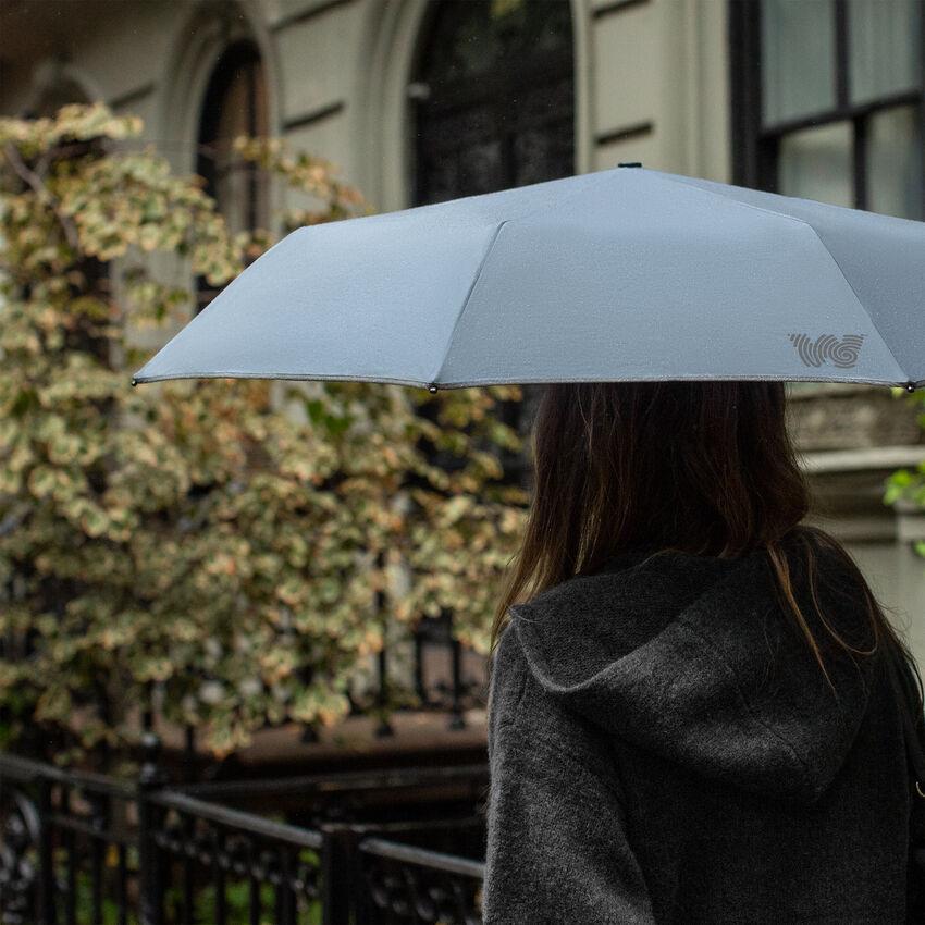 The Travel Umbrella, Dusty Blue, medium