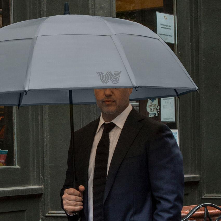 The Stick Umbrella, Gray, medium