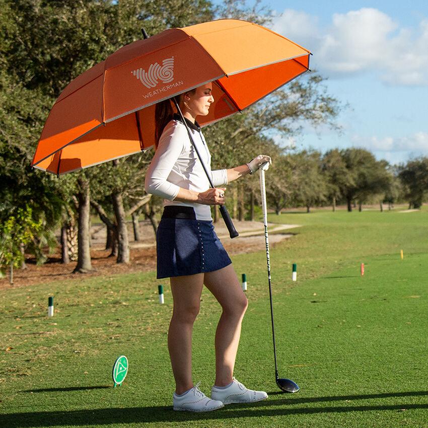 The 68 Golf Umbrella, Orange, medium
