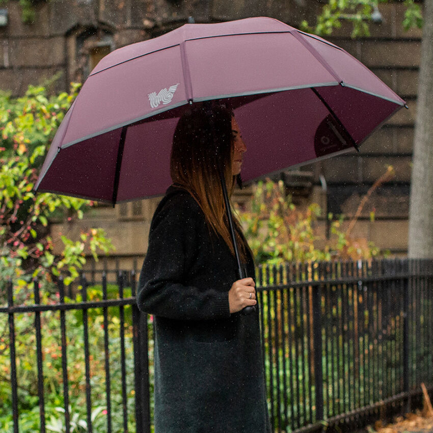 The Stick Umbrella, Burgundy, medium