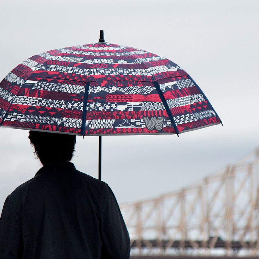 The United Folds of Honor Stick Umbrella, , medium